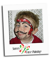 Surrey Face Painting - Child - Pirate